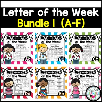 Letter of the Week BUNDLE 1 (A-F)