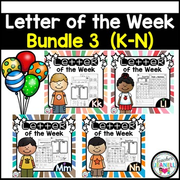 Letter of the Week BUNDLE 3 (K-N)