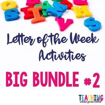 Letter of the Week Big Bundle #2