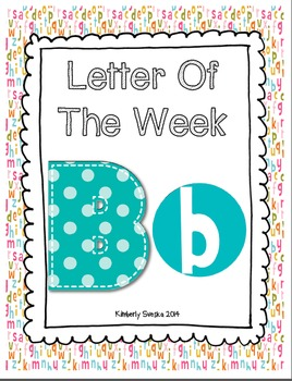 Letter of the Week Bundle One
