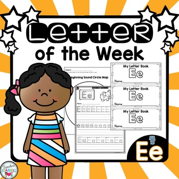 Letter of the Week - Ee