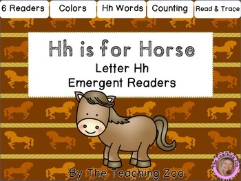 Letter of the Week Emergent Readers - H h is for Horse