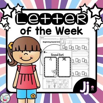 Letter of the Week - Jj