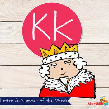 Letter of the Week Kk Workbook