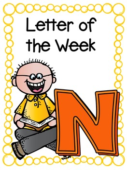 Letter of the Week- N