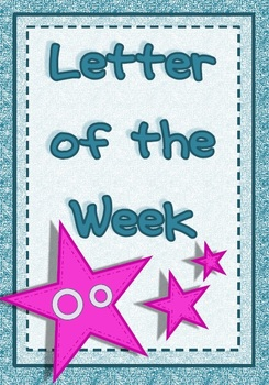 Letter of the Week - Oo