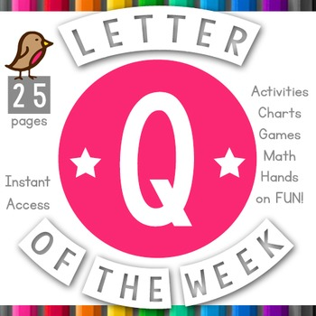 Letter of the Week: Q
