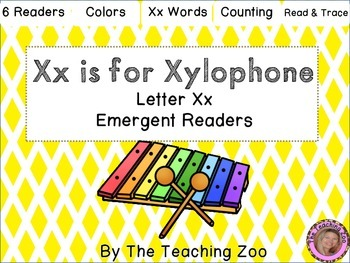 Letter of the Week Readers - X x is for Xylophone