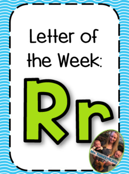 Letter of the Week: Rr