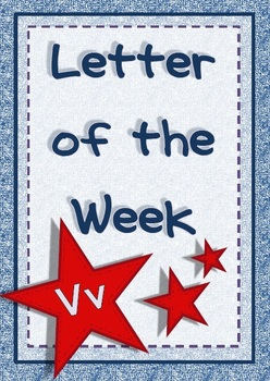 Letter of the Week - Vv