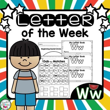 Letter of the Week -Ww