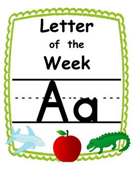 Letter of the week Aa