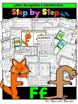 Letter of the week-LETTER F Activity PACK- letter recognit