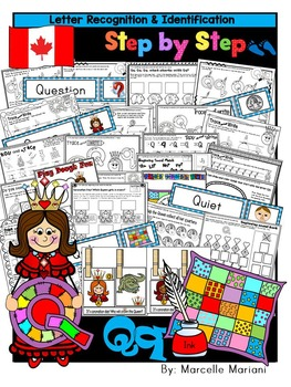 Letter of the week-LETTER Q Activity PACK-letter recogniti