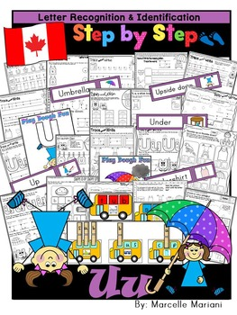 Letter of the week-LETTER U Activity PACK-letter recogniti