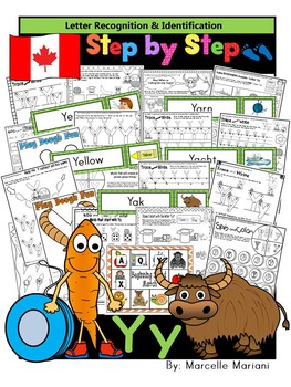 Letter of the week-LETTER Y Activity PACK-letter recogniti