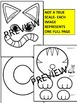 Letter of the week-Letter C-Art Activity Templates- C is for CAT