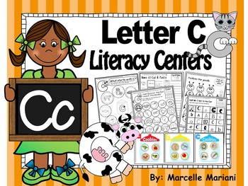 Letter of the week- Letter C Literacy Center Activities fo