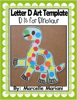 Letter of the week-Letter D-Art Activity Templates- D is f