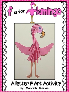 Letter of the week-Letter F-Art Activity Template- Flaming