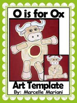 Letter of the week-Letter O-Art Activity Templates- A lett