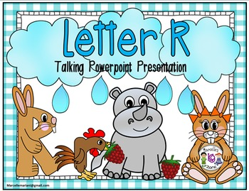 Letter of the week- Letter R- NARRATIVE (TALKING) Power Po