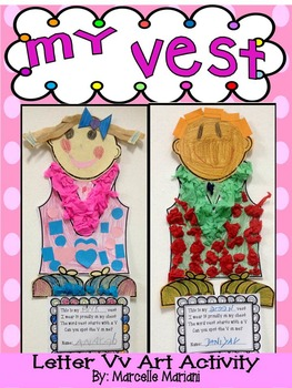 Letter of the week-Letter V-Art Activity Templates- A lett