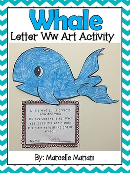 Letter of the week-Letter W-Art Activity Templates- A lett