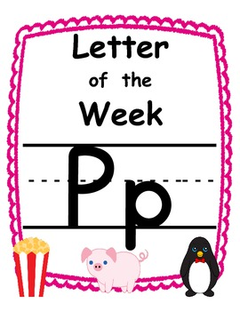 Letter of the week Pp
