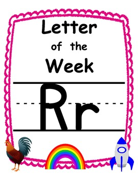 Letter of the week Rr