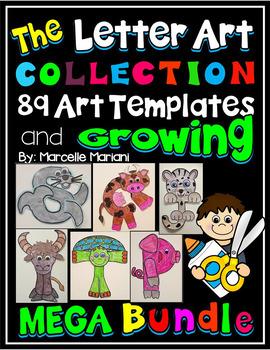 The Alphabet Letter Art Collection- 89 Alphabet Art Activi