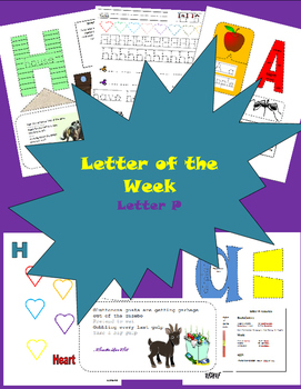 Letter of the week letter P