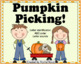 Letter and sound recognition - Pumpkin Picking!