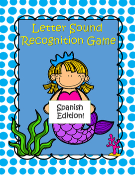 Letter Sound Recognition Sorting Game (Spanish Edition)
