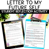 Letter to My Future Self Back to School Writing Activity