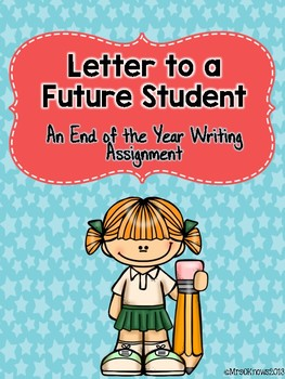 Letter to a Future Student