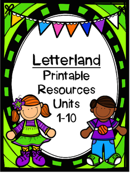 Letterland Resource Pack: Units 1-10