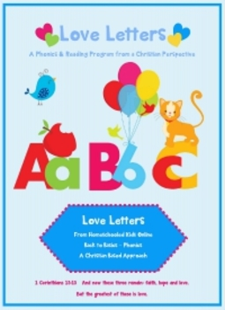 Letters A and B Bundle  - © Love Letters - A Phonics/Readi