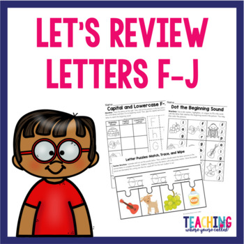 Letters F-J Review Pack
