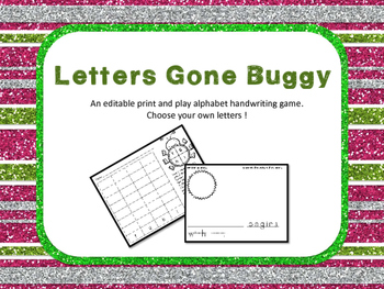 Letters Gone Buggy- FREEBIE