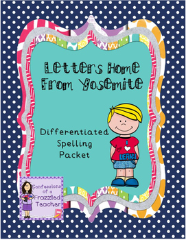 Letters Home from Yosemite Spelling (Scott Foresman Readin