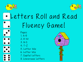 Letters Roll and Read