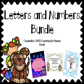 Letters and Numbers Bundle