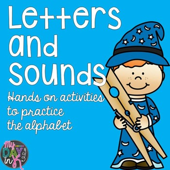 Letters and Sounds Alphabet Activities