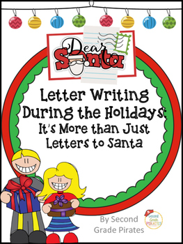 Letters during the Holidays- It's More than just Writing to Santa