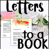 Letters to Books: A meaningful way to reflect on themes an