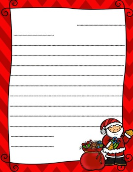 Letters to Santa Writing Bundle