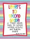 Letters to Second Grade! A THIRD grade Back to School Writ