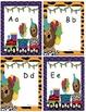 Lettres alphabet et animaux du cirque (alphabet cards and