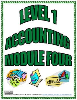 Level 1 Accounting Module Four TADO
